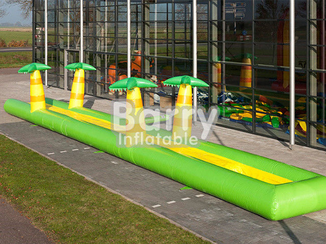 PVC Inflatable Belly Slide Jungle Inflatable Slip N Slide For Commercial Event