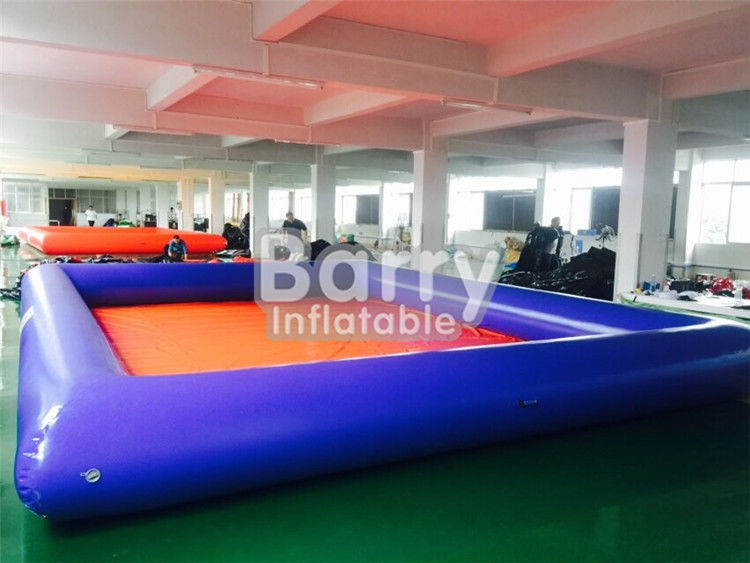 China Summer Water Game Inflatable Backyard Swimming Pools With Customized Toys factory