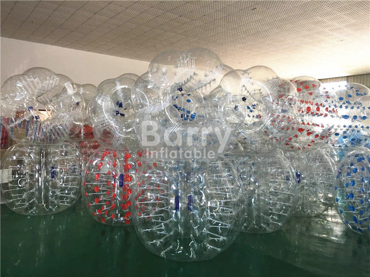 China 1.2m / 1.5m / 1.7m Diameter Human Inflatable Bumper Bubble Ball Inflatable Kids Toys factory