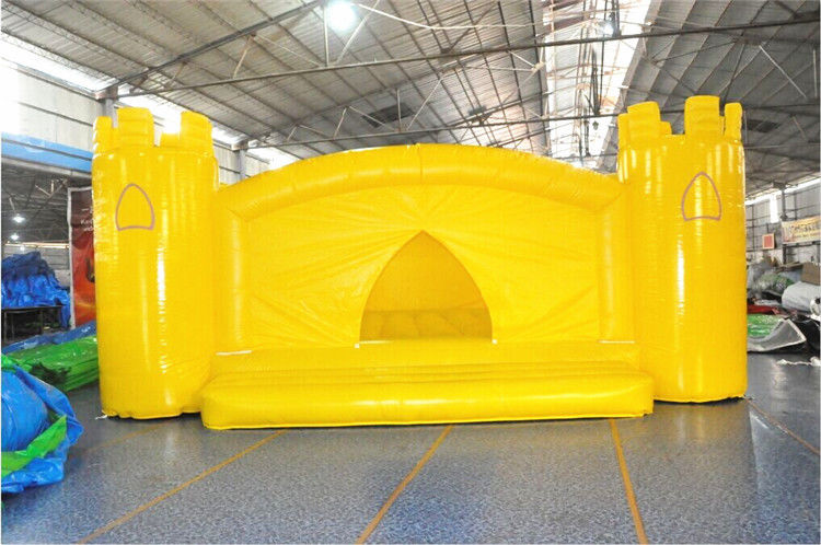 China Yellow Big Jump Moonwalk Commercial Grade Bounce House For Adults EN71 Approved factory