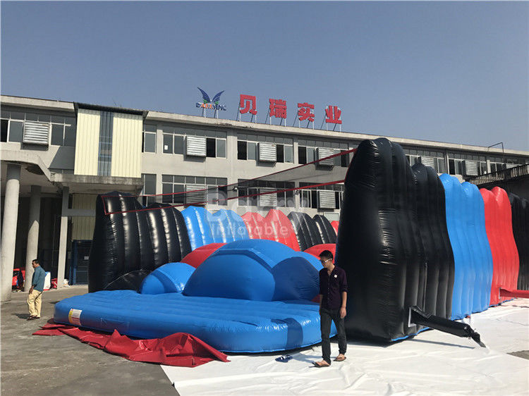 Barry Customized Attractive Giant Jump Around Inflatable 5K Obstacle Course Race Successful Case supplier