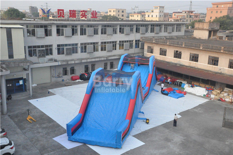 China Humps of Inflatable 5k Adult Inflatable Obstacle Course , Insane Inflatable 5K Run Obstacles For Adults factory