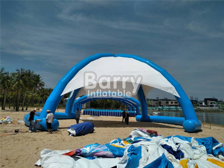 China Outdoor Airtight Big Inflatable Dome Tent For Event , Inflatable Beach Tent factory
