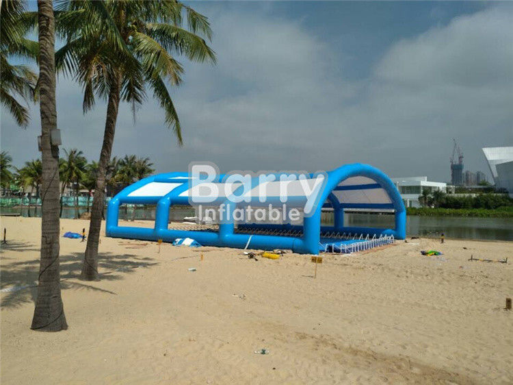 China 20X18X7M or OEM ODM large inflatable tent , inflatable event shelter PVC Tarpaulin factory