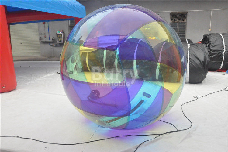 China 1.0mm Thickness Clear Pvc Inflatable Pool Walker Water Ball For Kids factory