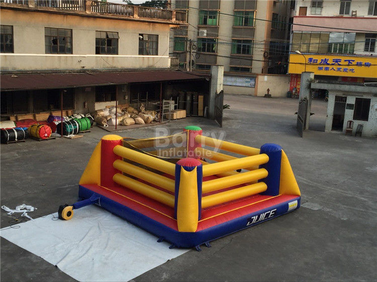 China Indoor Playground Kids Inflatable Sports Games / Inflatable Boxing Ring factory