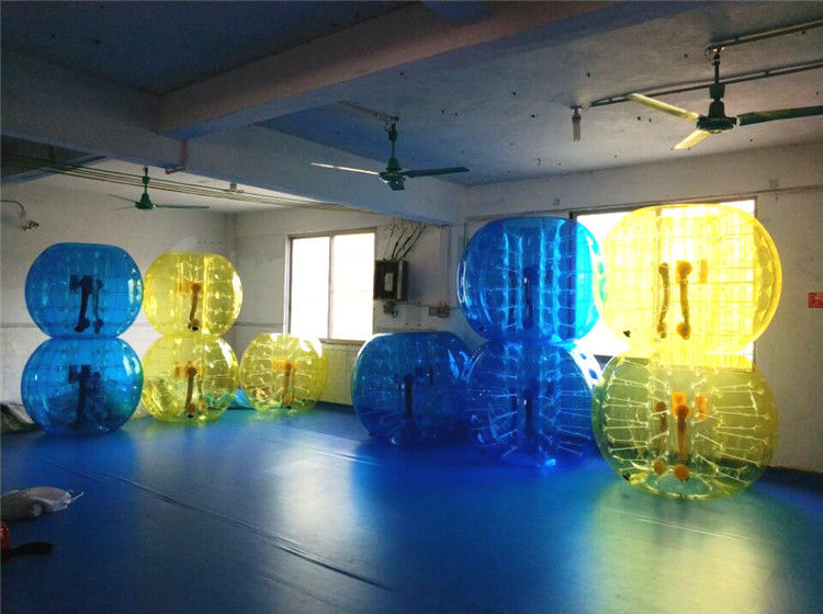 China Kids / Adults Inflatable Soccer Bubble Ball With Urable Plato TPU factory
