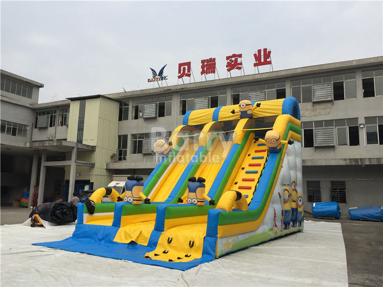 China Commercial And Residential Small Kids Inflatable Slide With 0.5mm Pvc Tarpaulin factory