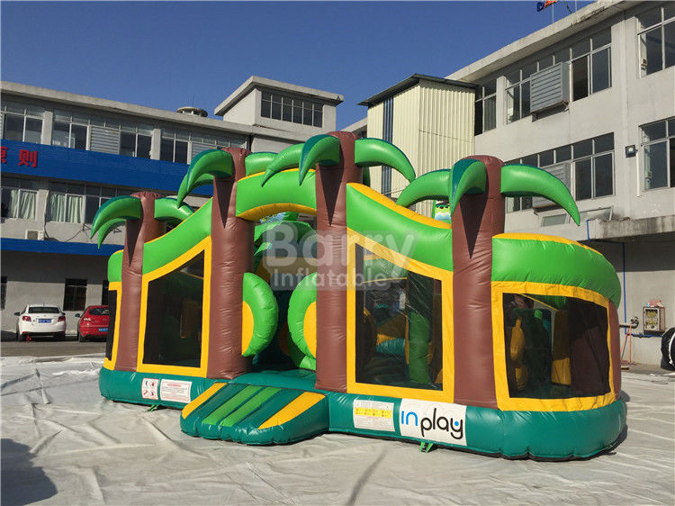 Theme Park Inflatable Toddler Playground , Inflatable Bouncy Castle supplier