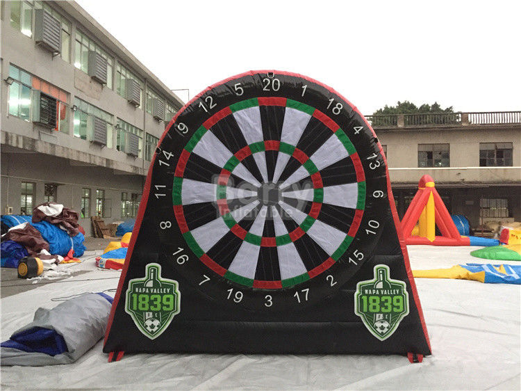 China Kids And Adults Giant Inflatable Golf Dart Boards / Inflatable Dart Game factory