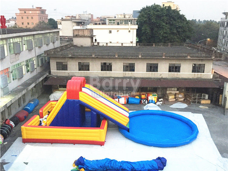 Amusement Inflatable Backyard Water Park , Inflatable ...