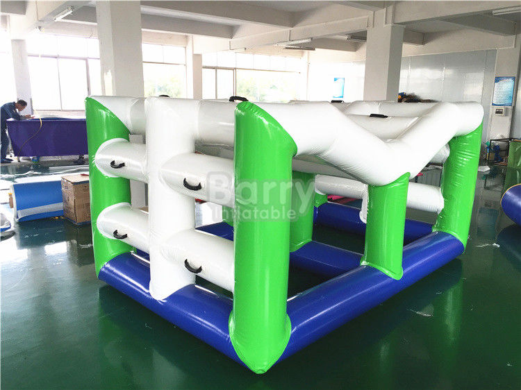 Swimming Inflatable Toy Boat , Large Floating Inflatable Water Climbing Wall
