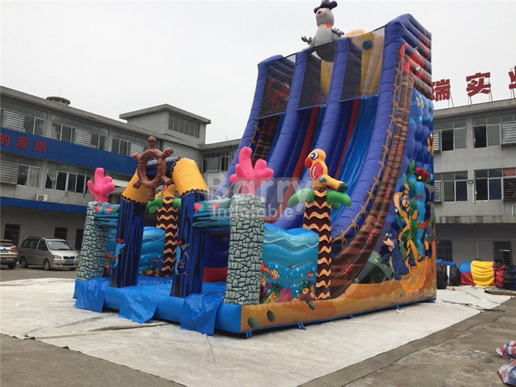 Huge Commercial Inflatable Slide  for Outdoor Yard Or Amusement Park
