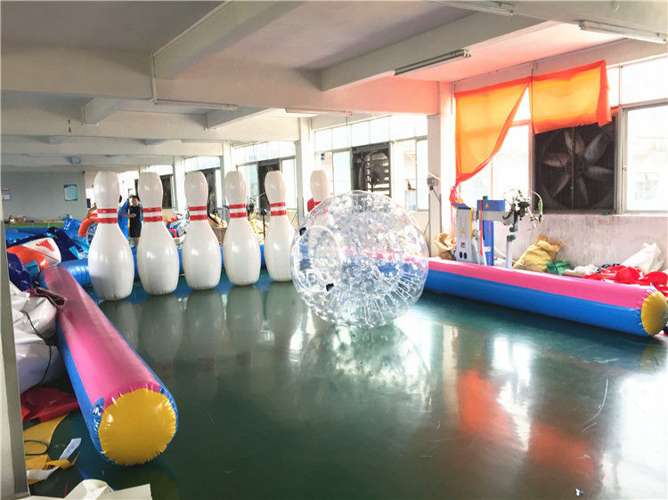 China Outdoor Human Inflatable Bowling Ball for Zorb Balls Ramp SCT EN71 factory