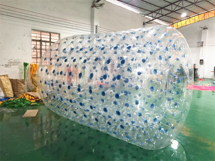 China PVC Tarpaulin Inflatable Water Toys , Orb Water Roller Ball 2.4 * 2.2 * 1.8M factory