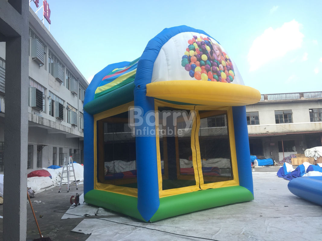China Customized Commercial Bounce House , Bouncing Castle For Children factory