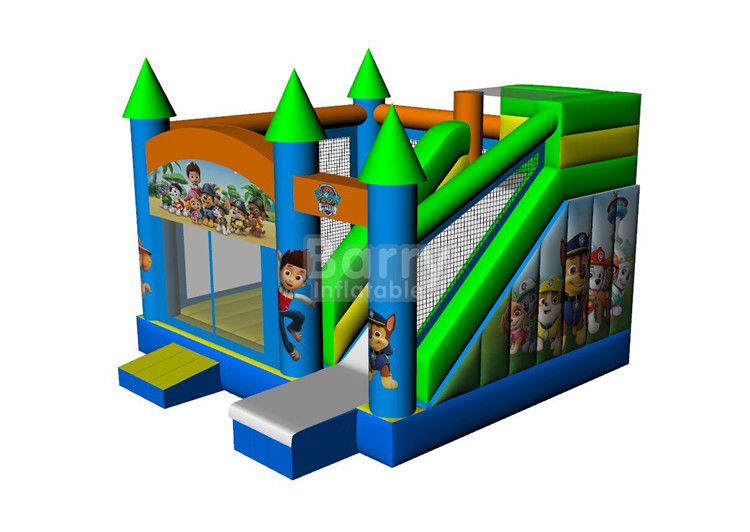 China Commercial Grade Inflatable Bouncer House , Industrial Catoon Moon Bounce factory