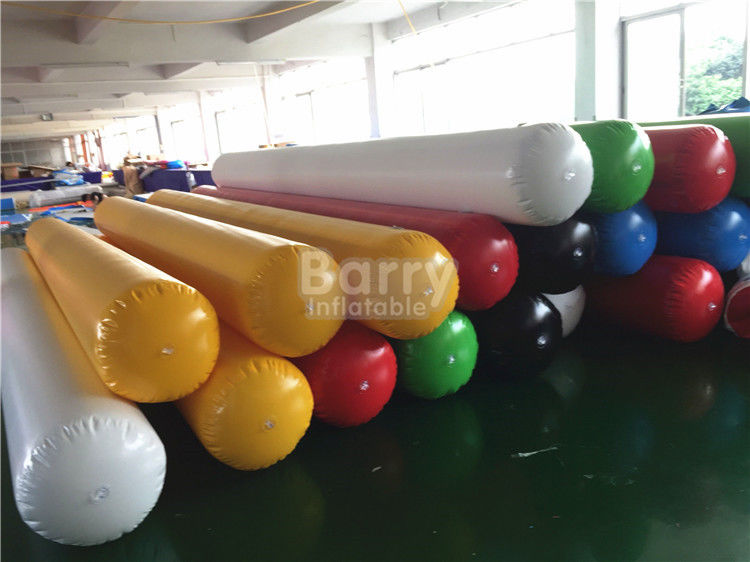 PVC Tarpaulin Inflatable Water Toys Barrier Water Pipe For Water Game On Lake SCT EN71 supplier