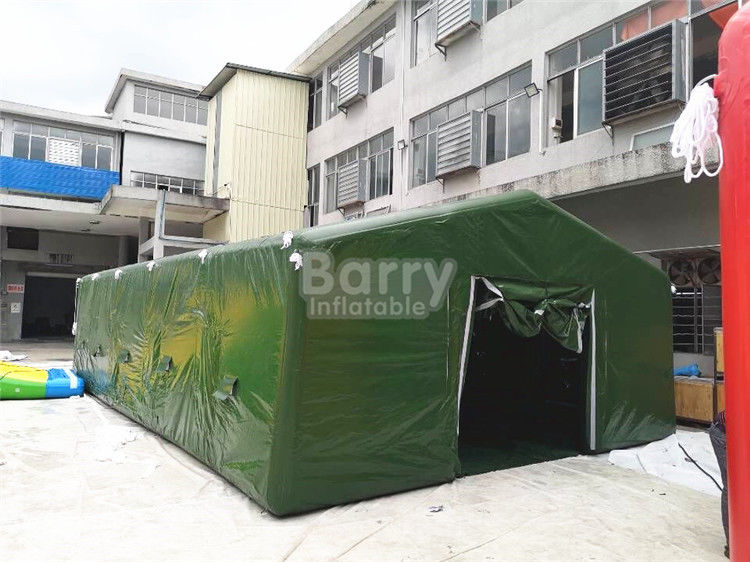 China Giant Air Sealed Or Air Military Inflatable Frame Tent For Outdoor Party Or Event factory