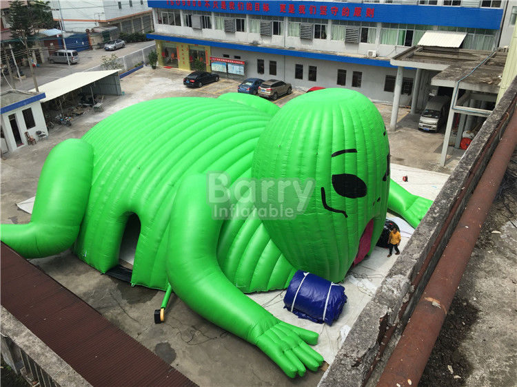 China Big Printed Outdoor Moster Advertising Inflatable Event Tent , Blow Up Dome Tent factory