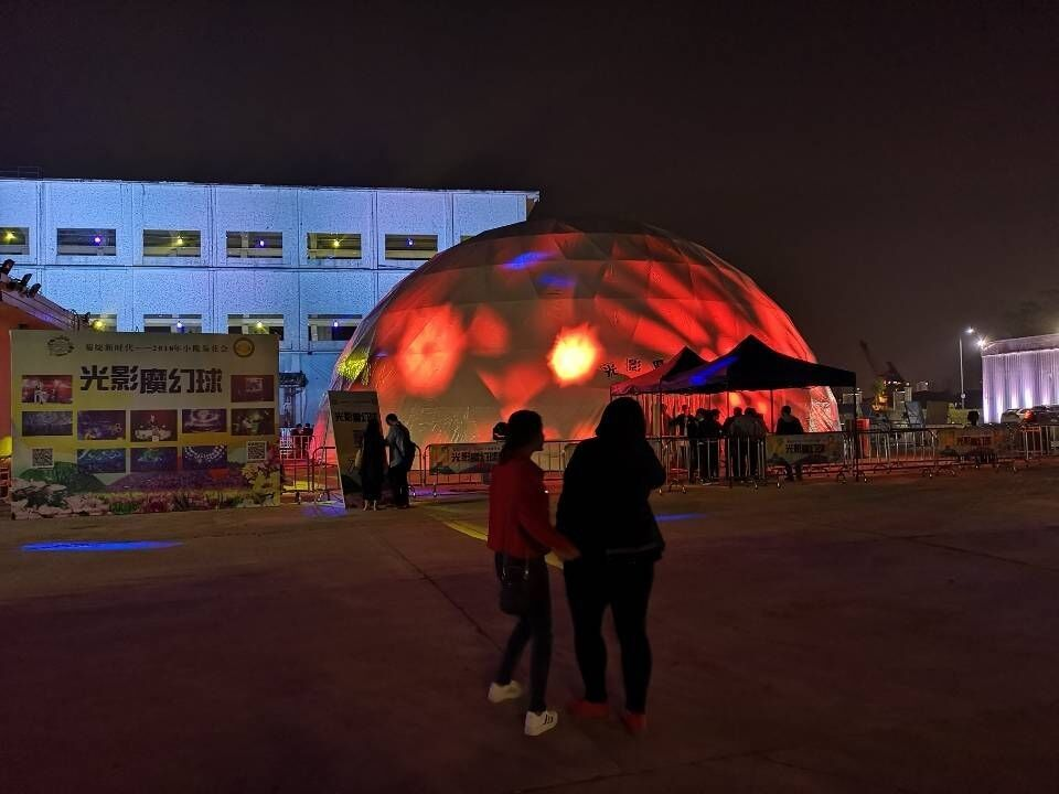 China Exhibition Air Tight Inflatable Event Tent For Booth , Inflatable LED Tent factory