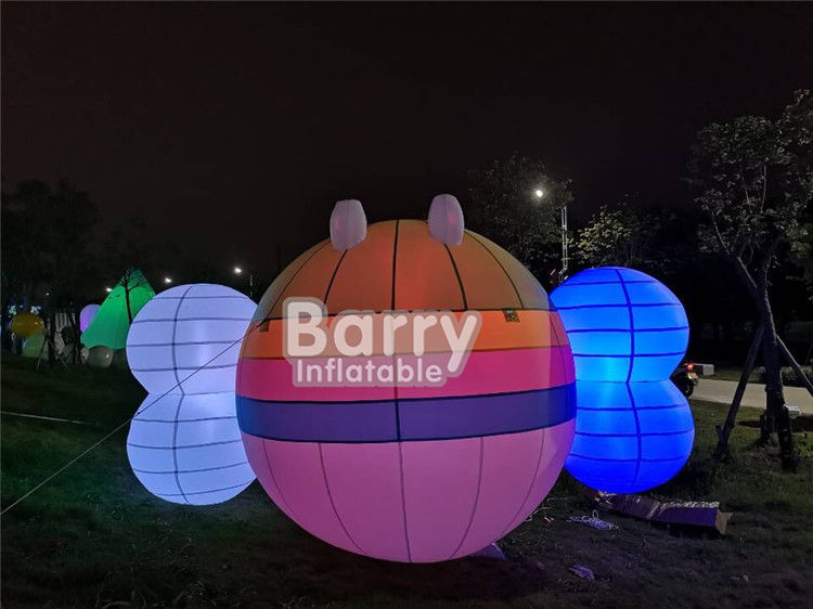 Custom Festival Decoration LED Inflatable Bees Carton Model EN14960 CE UL supplier