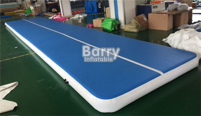 China 10x2x0.2m Tumble Track Inflatable Air Track Gymnastics Mat Easy To Move factory