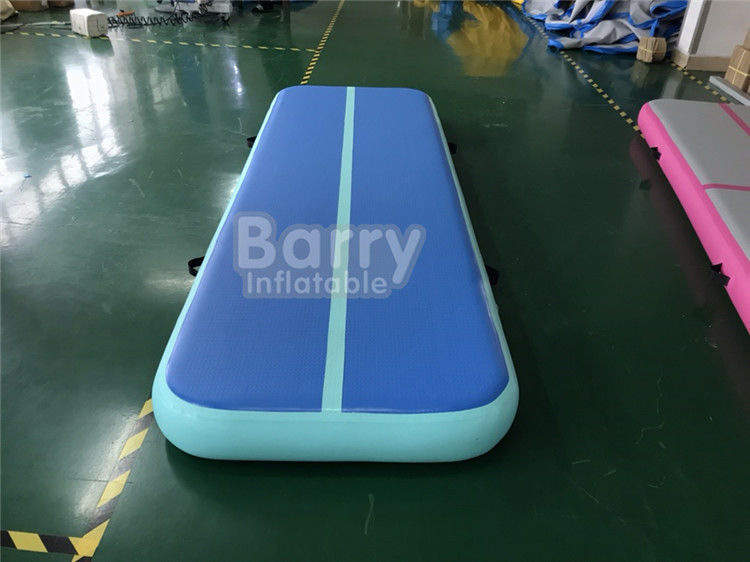 China Custom Indoor Outdoor Airtight Inflatable Air Track Gymnastics Mat For Gymnastics factory