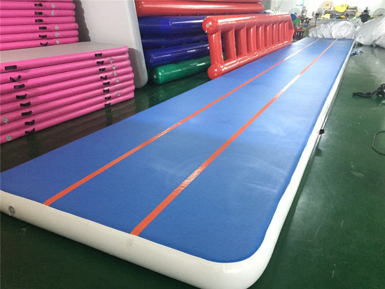 China Large Inflatable Air Track Training Mat Jumping Mat For Gymnastics Waterproof factory