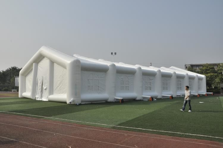 China Romantic Inflatable Tent For Wedding Decoration , Dome Outdoor White Party Tent factory