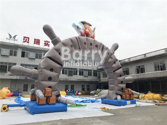 Outdoor Commercial Advertising Inflatable Arch With OEM Logo Printing