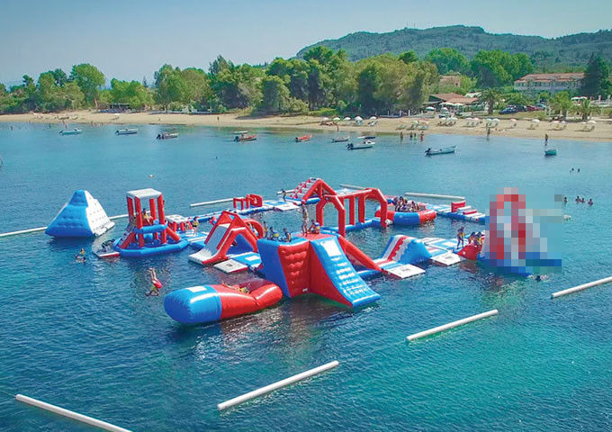 Amazing Backyard Open Inflatable Water Park Outdoor Blow Up Water Park