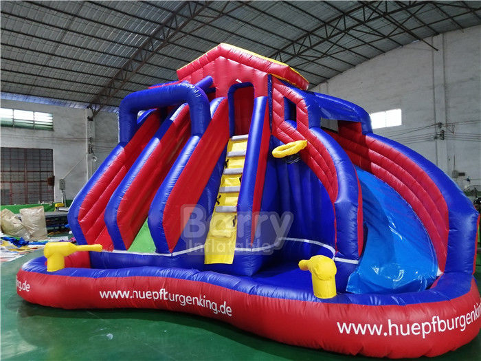 China Amazing Inflatable Splash Park , Inflatable Water Games Customzied Size factory