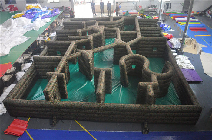 China Adult Inflatable CS Laser Sport Games CS Inflatable Paintball Bunker Maze factory