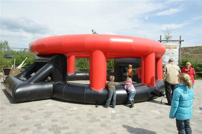 China Mobile Interactive Sport Games Inflatable Panna Soccer Cage For Football factory