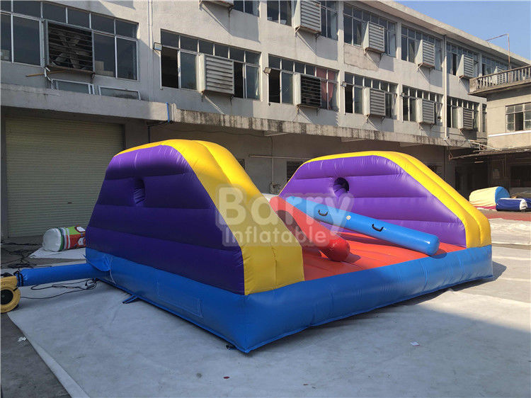China Carnival Festival Sports Set Fighting Inflatable Duel Gladiator Sticks Joust Game Arena factory