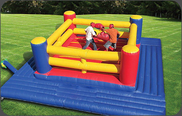 China Exciting Inflatable Boxing Ring / Inflatable Fighting Court For Sport Games factory