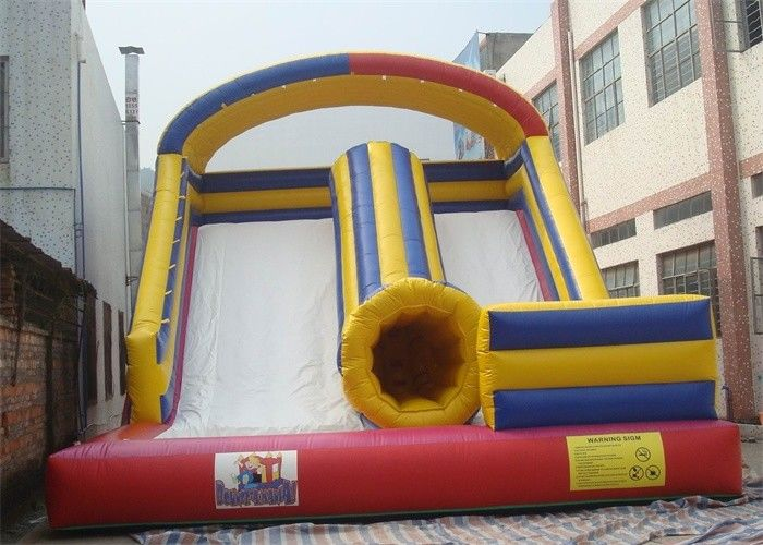 China EN14960 Kid Playing Commercial Inflatable Combo Slide With Waterproof PVC factory