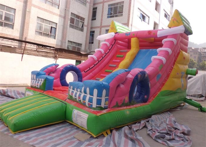 Outdoor Waterproof Commercial Inflatable Slide With Shoes Shape , EN71 supplier