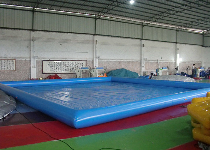 China Customized Big Inflatable Garden Swimming Pools With CE / UL Blower factory