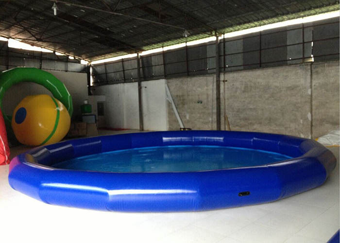 China Durable Indoor Round Inflatable Kids Swimming Pool , Inflatable Adult Swimming Pool factory