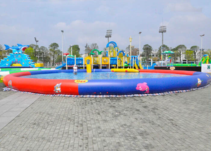 Commercial Above Ground Inflatable Swimming Pools With