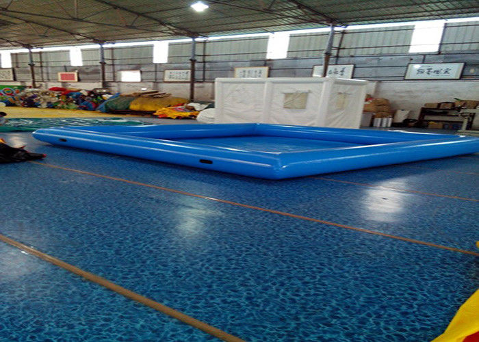 Large Inflatable Swimming Pool With Waterproof Plato Pvc Tarpaulin