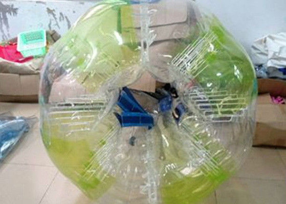 China PVC Outside Inflatable Kids Toys Amazing Bubble Ball / Inflatable Human Bumper Ball factory