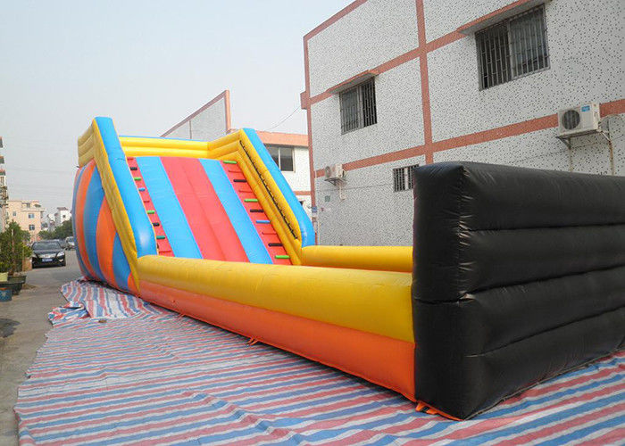 Huge Outdoor Inflatable Toys Zorb Ball Track , Commercial Inflatable Zorb Ramp