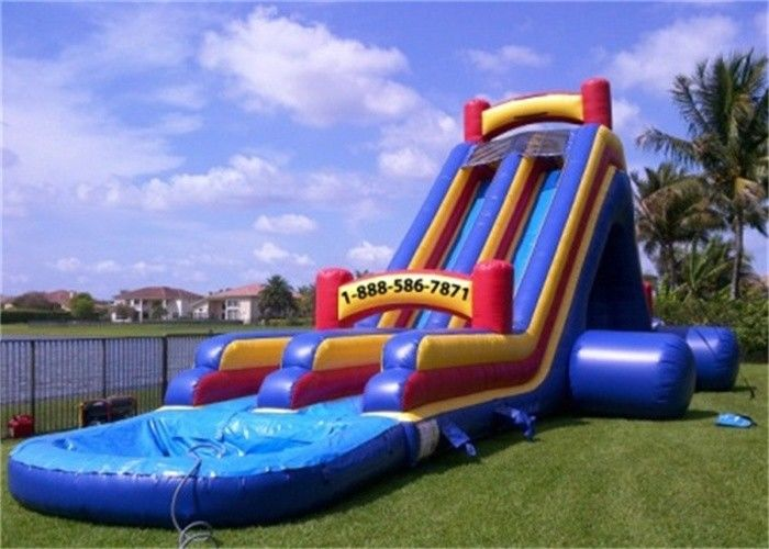 Beau Interesting Inflatable Water Slide , Banzai Inflatable Outdoor Water Slide