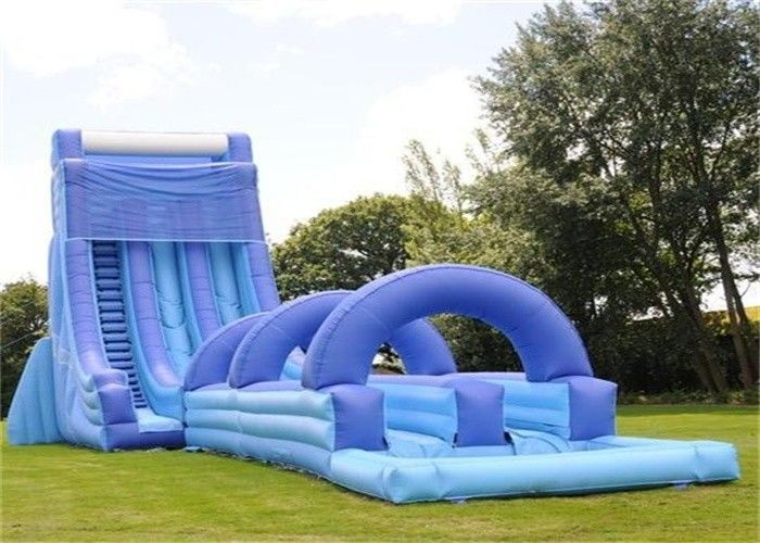 Adult inflatable water slides
