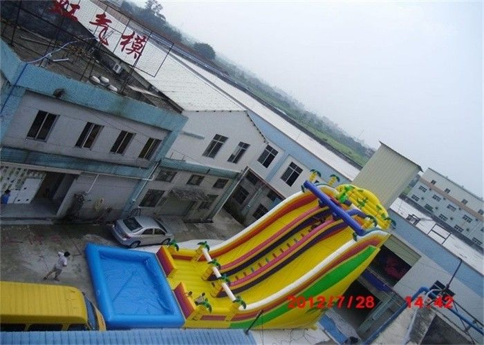 Amazing Inflatable Water Slide, Largest Industrial Inflatable Water Slide From China supplier