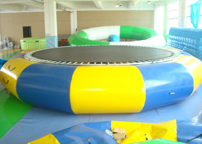 outdoor inflatable pool toys water trampoline for kids. Black Bedroom Furniture Sets. Home Design Ideas