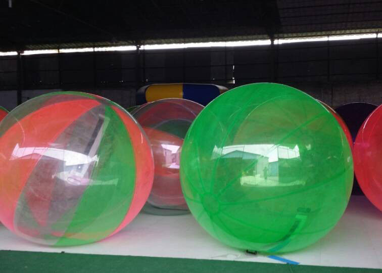 Rental Dia 2m Children Blow Up Water Toys Inflatable Walking Water Ball